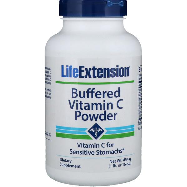 Буферный порошок витамина С, 16 унций (454 г)