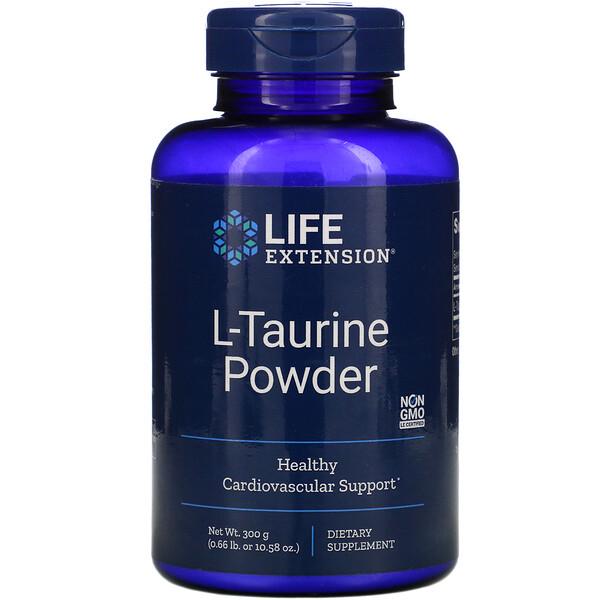 L-таурин в порошке, 300г (10,58унции)