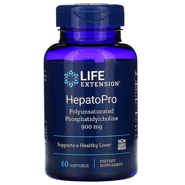 Life Extension, HepatoPro, 900 мг, 60 мягких таблеток