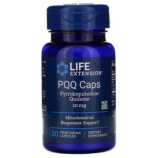 Капсулы с PQQ (пирролохинолинхиноном), 10 мг, 30 вегетарианских капсул