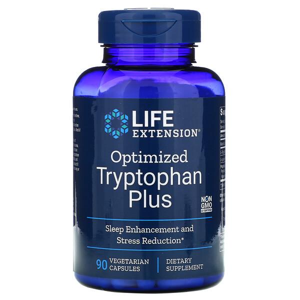 Optimized Tryptophan Plus, 90 вегетарианских капсул