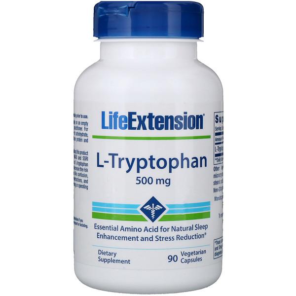 L-триптофан, 500мг, 90вегетарианских капсул