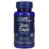 Life Extension, цинк в капсулах, высокая эффективность, 50 мг, 90 вегетарианских капсул