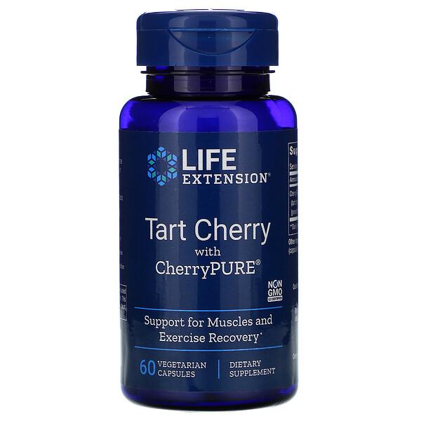 Tart Cherry with CherryPURE, 60 Vegetarian Capsules