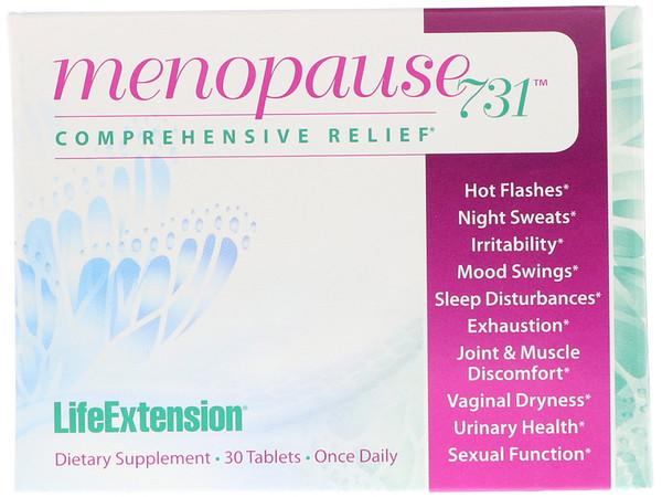 Life Extension, Менопауза 731, 30 таблеток
