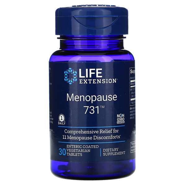 Menopause 731, 30 Enteric Coated Vegetarian Tablets