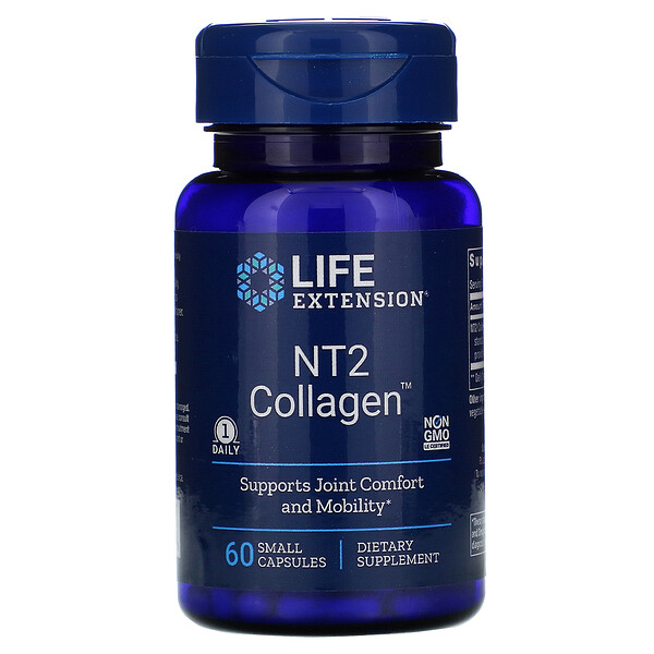 NT2 Collagen, 60 Small Capsules