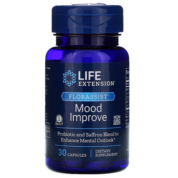 Life Extension, FLORASSIST Mood Improve,  30 Capsules