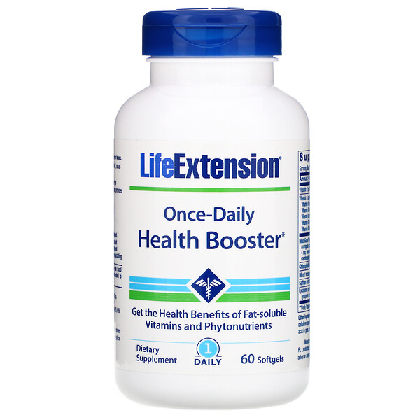 Once-Daily Health Booster, 60 Softgels
