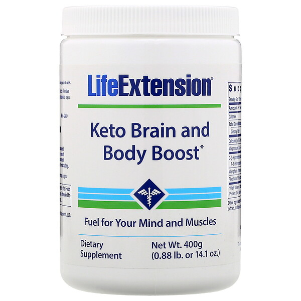 Кето-усилитель работы мозга и тела, 400г (1,41унция)