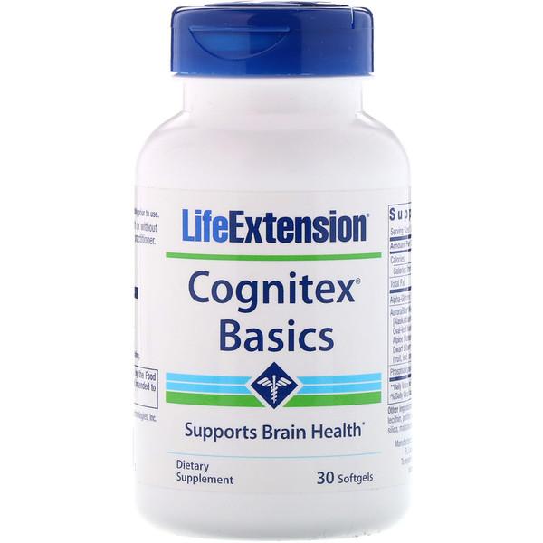 Cognitex Basics, 30 мягких желатиновых капсул