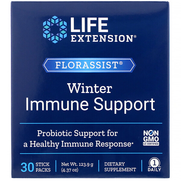 FLORASSIST Winter Immune Support, 30 Stick Packs