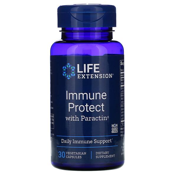 Immune Protect with PARACTIN, 30 Vegetarian Capsules