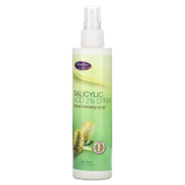 Life-flo, Спрей с салициловой кислотой, 8 жидких унций (237 мл)