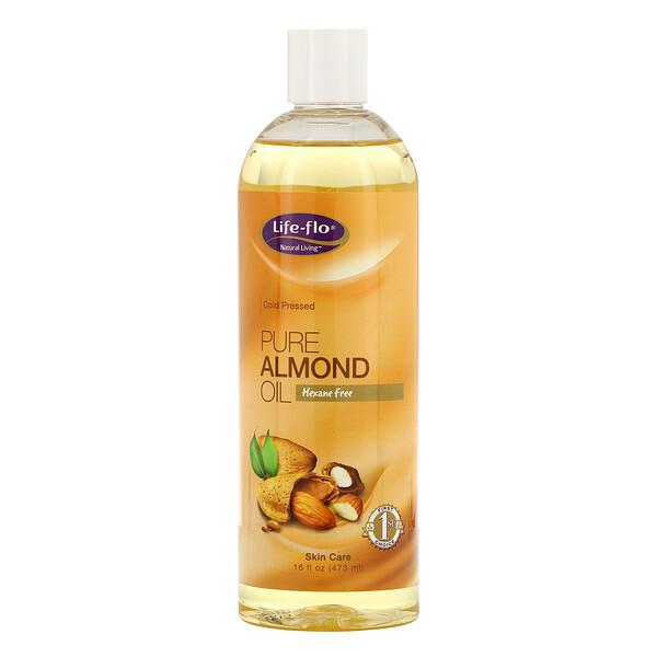 Чистое миндальное масло для ухода за кожей, 473 мл (16 жидких унций)