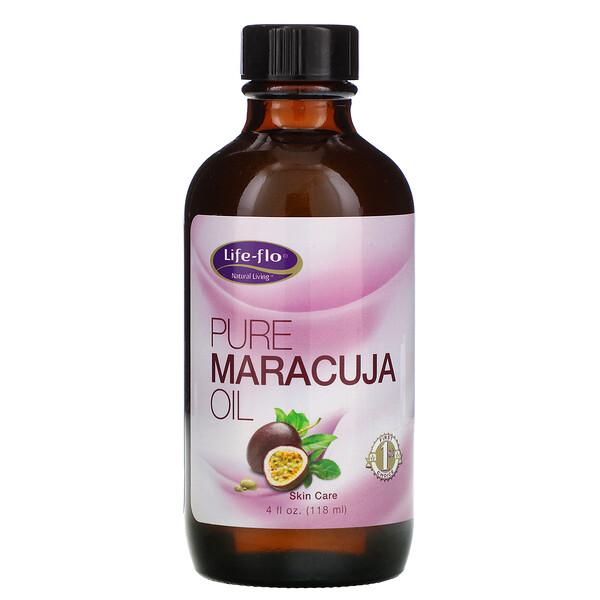 Беспримесное масло маракуйи, 4 ж. унц. (118 мл)