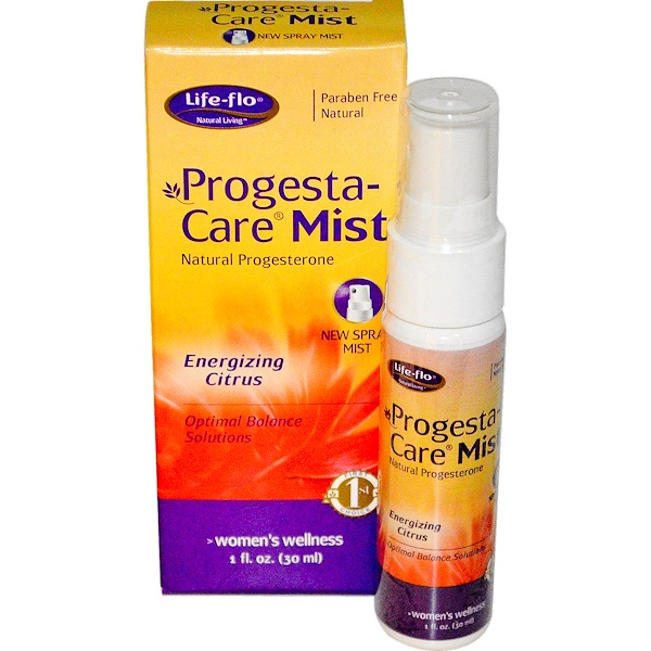Life-flo, Progesta-Care Mist, заряжающий энергией цитрус, 30 мл (Discontinued Item)