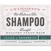 J.R. Liggett's, Твердый шампунь в старом стиле, с жожоба и перечной мятой, 99 г (3,5 унции)