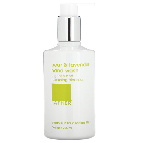 Lather, Pear & Lavender Hand Wash, 10 fl oz (295 ml)