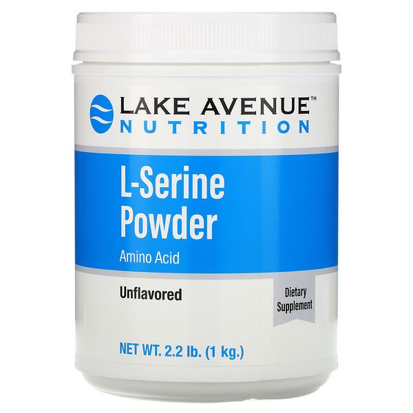 L-серин в порошке с нейтральным вкусом, 1кг (2,2 фунта)