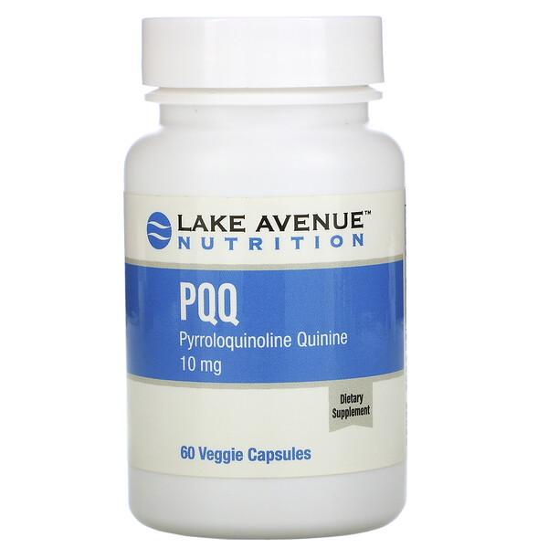 PQQ (пирролохинолинхинон), 10мг, 60растительных капсул