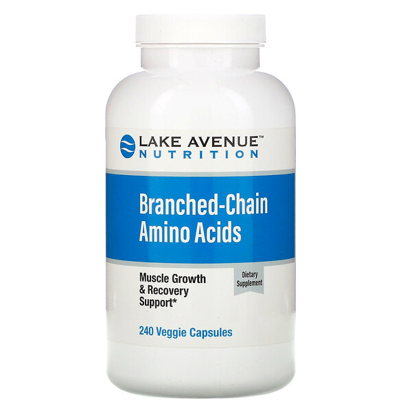 аминокислоты с разветвленными цепями, 240растительных капсул