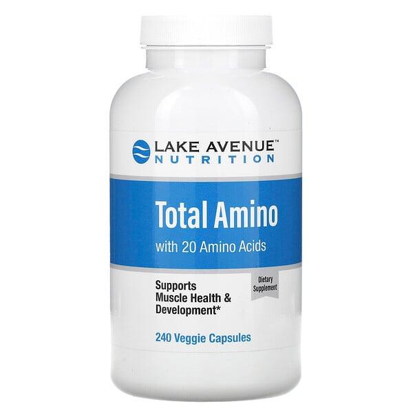 аминокислоты, 240растительных капсул