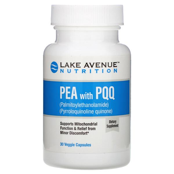 PEA (пальмитоилэтаноламид) с PQQ, 30растительных капсул