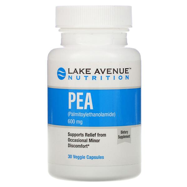 ПЭА (пальмитоилэтаноламид), 600мг, 30растительных капсул