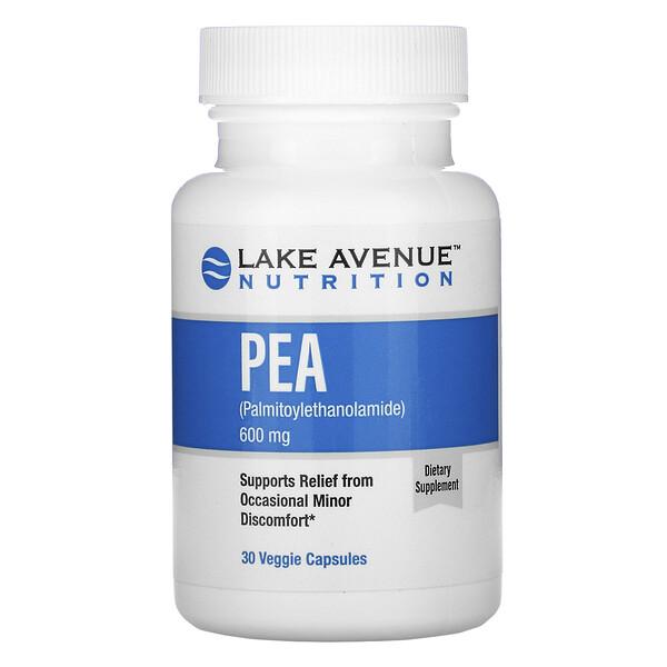 ПЭА (пальмитоилэтаноламид), 600мг в 1порции, 30растительных капсул