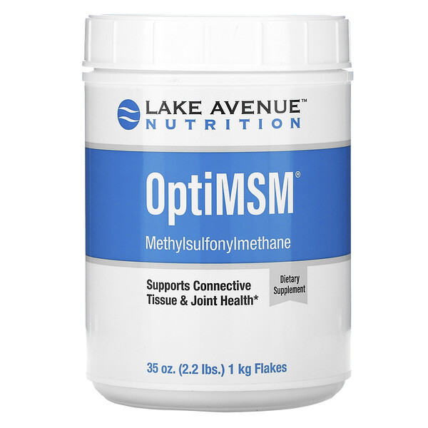 OptiMSM, хлопья, 1кг (35унций, 2,2фунта)