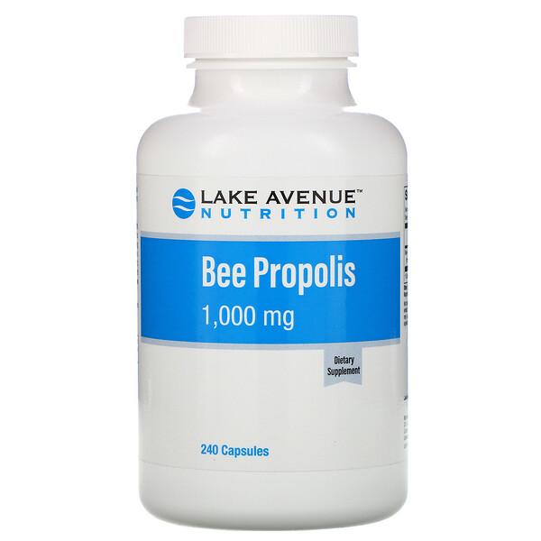 Прополис, экстракт 5:1, эквивалент 1000 мг, 240 растительных капсул