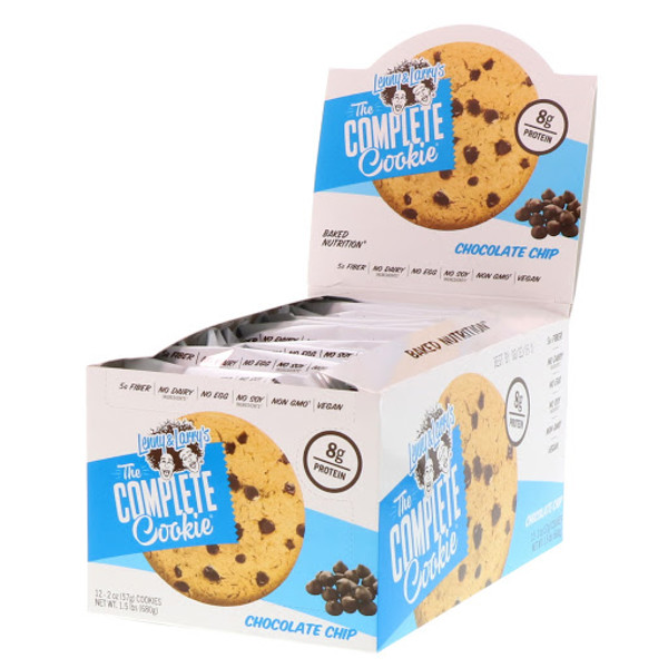 The COMPLETE Cookie, Chocolate Chip, 12 Cookies, 2 oz (57 g) Each