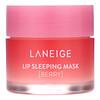 Laneige, Lip Sleeping Mask, ночная маска для губ, ягодная, 20г