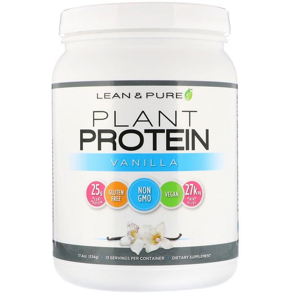 Растительный протеин, ваниль, 534г