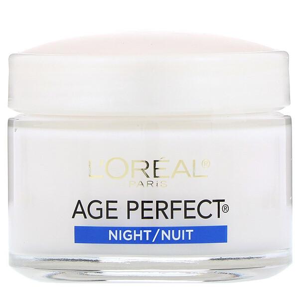 AgePerfect, ночной крем, 70г