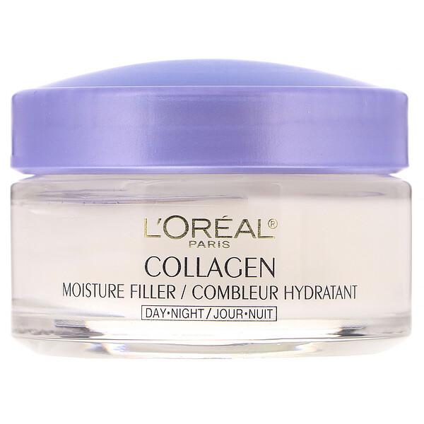 Collagen Moisture Filler, дневной / ночной крем с коллагеном, 48 г