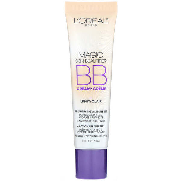 L'Oreal, BB-крем Magic Skin Beautifier, светлый, 30 мл (Discontinued Item)