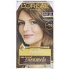 L'Oreal, Осветляющая краска для волос Superior Preference с системой придания сияния, теплый, осветленный золотисто-коричневый UL63, на 1применение