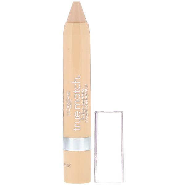 L'Oreal, Консилер-карандаш True Match Crayon Concealer, оттенокN1-2-3 нейтральный светлый, 2,8г (Discontinued Item)