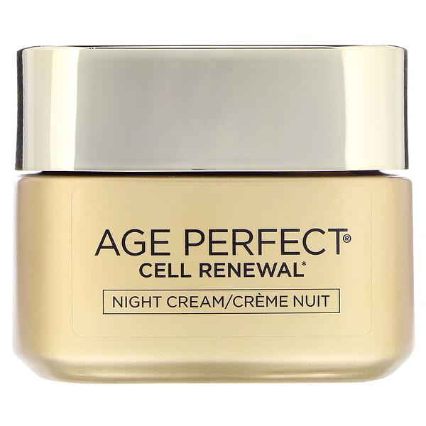 Age Perfect Cell Renewal, увлажняющий ночной крем, восстанавливающий кожу, 48 г