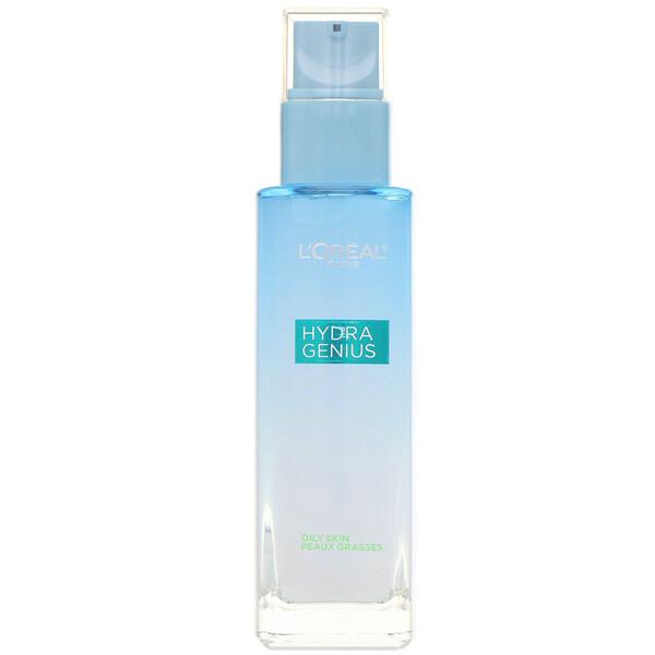 Аква-флюид для лица HydraGenius «Матирование», для нормальной и жирной кожи, 90мл