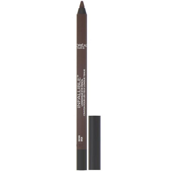 Водостойкий карандаш для глаз Infallible Pro-Last, оттенок 940 «Коричневый», 1,2г