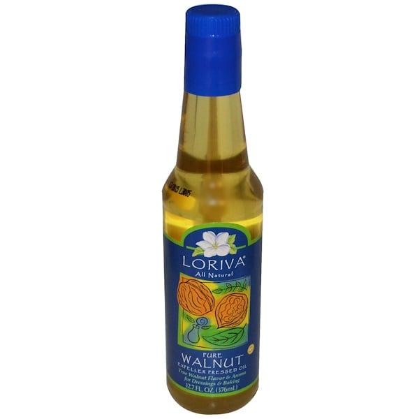 Loriva, Чистое экспеллерное масло грецкого ореха, 12,7 жидких унций (376 мл) (Discontinued Item)