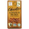 Chocolove, Миндаль с морской солью в темном шоколаде, 55% какао, 90г (3,2унции)