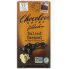 Chocolove, Соленая карамель с шоколадной начинкой в темном шоколаде, 55% какао, 90 г (3,2 унции)