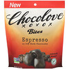 Chocolove, Bites, Espresso in 55% Dark Chocolate, 3.5 oz (100 g)