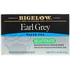 Bigelow, Эрл грей, без кофеина, черный чай, 20 чайных пакетиков, 1,18 унц. (33 г)