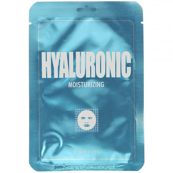 гиалуроновая тканевая маска, увлажняющая, 1шт., 25мл (0,84жидк.унции)