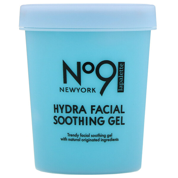 No.9 Hydra Facial Soothing Gel, #02 Water Jelly Blueberry, 250 g